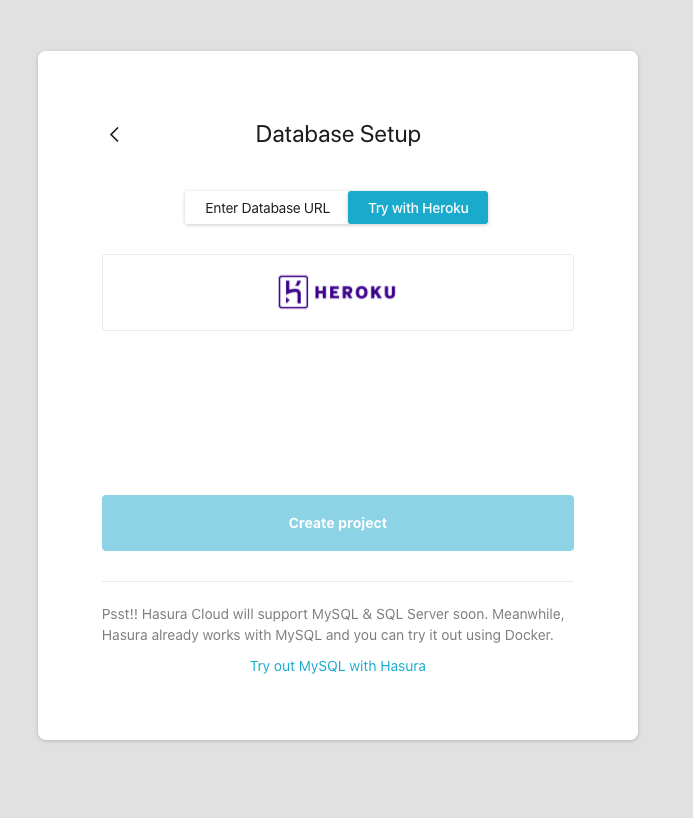 try with heroku